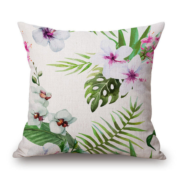 Parrot Print Pillow Cover-Home Decor-Moonlight Gypsy