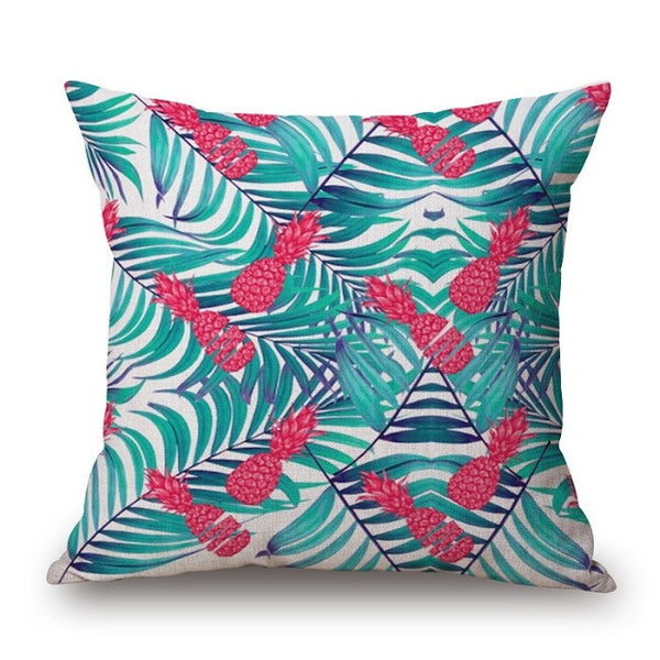 Psychedelic Palm Tree Print Pillow Cover-Home Decor-Moonlight Gypsy