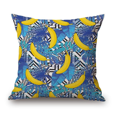 Banana Print Pillow Cover - Moonlight Gypsy