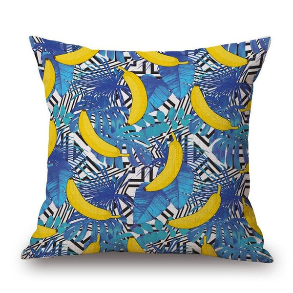 Pineapple Sunglasses Print Pillow Cover-Home Decor-Moonlight Gypsy