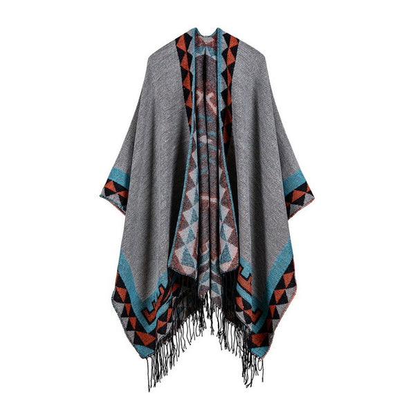 Bohemian Wrap Blanket Sweater-Accessories-Moonlight Gypsy
