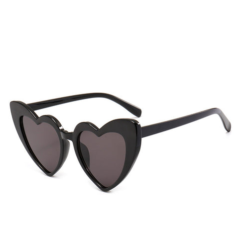 Black Heart Cat Eye Sunglasses - Moonlight Gypsy