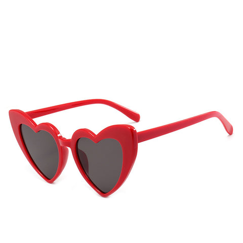 Red Heart Cat Eye Sunglasses - Moonlight Gypsy