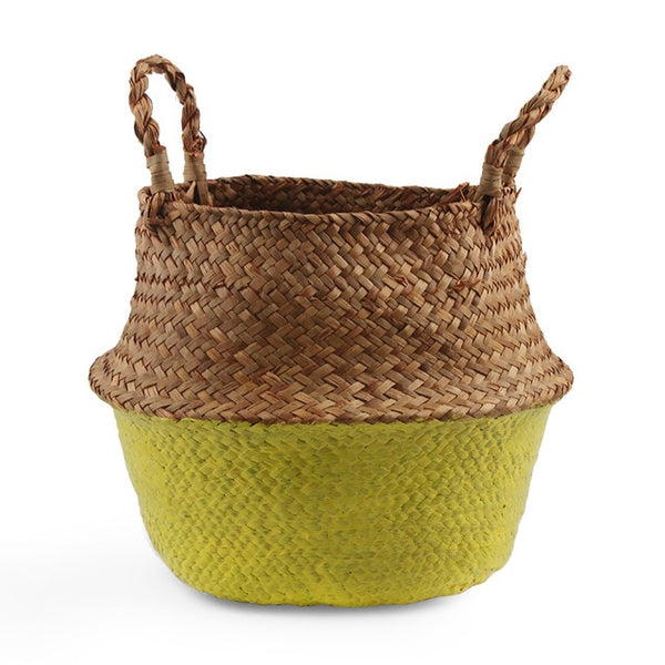 Seagrass Straw Storage Basket-storage basket-Moonlight Gypsy