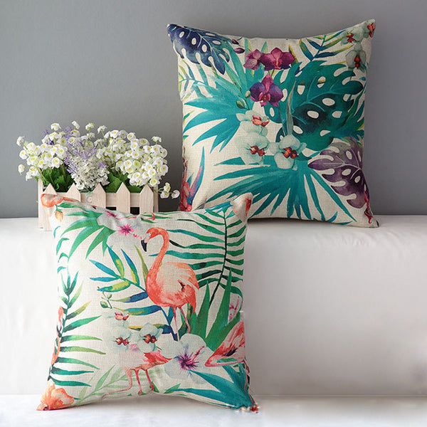 Palm Print Pillow Cover - Moonlight Gypsy
