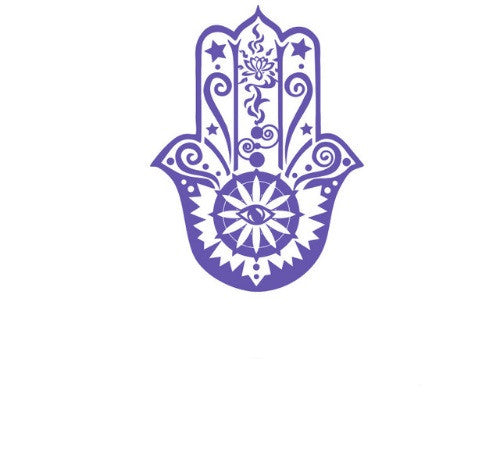 Hamsa Wall Sticker-Wall Sticker-Moonlight Gypsy
