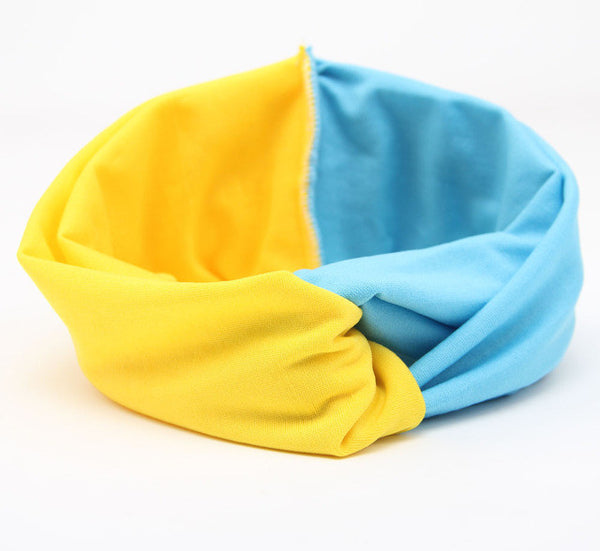 Colorblock Twist Boho Headband - Moonlight Gypsy
