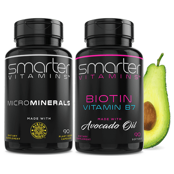 Biotin + MicroMinerals, Hair + Nails Combo Pack