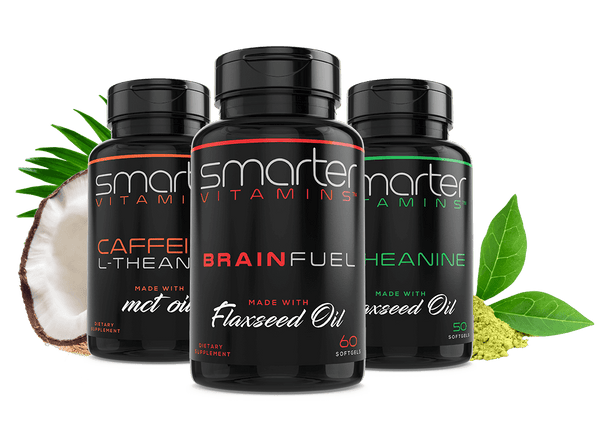 NOOTROPIC PACK: ONE Caffeine+ + ONE Brain Support + ONE L-Theanine