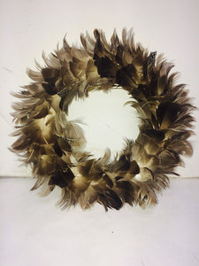 11'' Gray Swan Wreath
