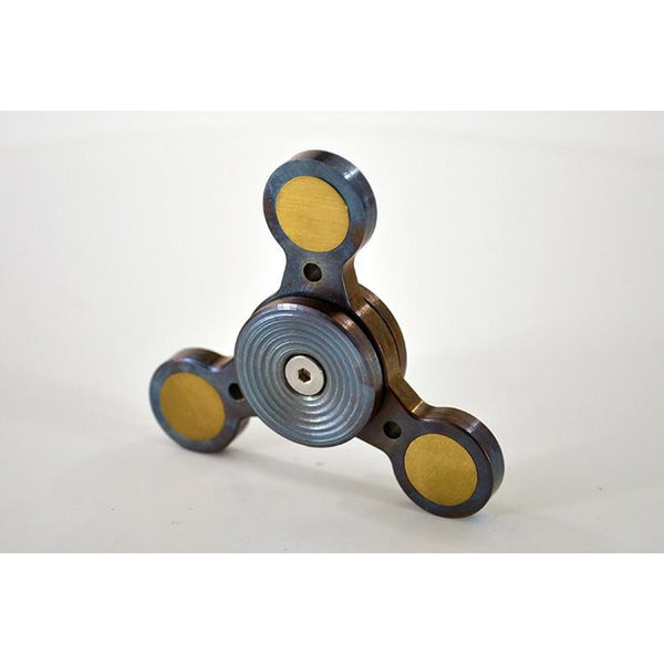 TFD Metal Spinner No. 1 - Solid Metal - All Stainless Steel and Brass, Spinner - TFD.world