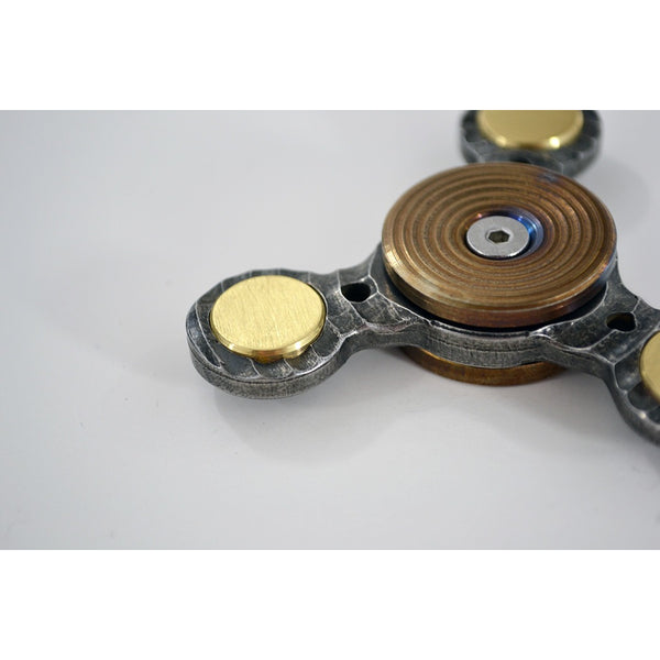TFD Metal Spinner No. 4 - Solid Metal - All Stainless Steel and Brass, Spinner - TFD.world