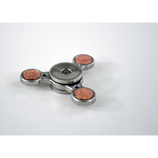 TFD Metal Spinner No. 9 - Solid Metal - All Stainless Steel and Copper, Spinner - TFD.world