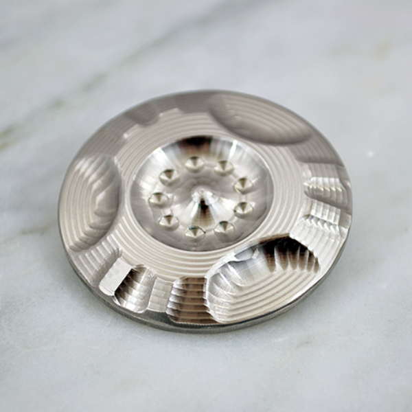 TFD Spin Disc Top - MoonShot - All Stainless Steel - EDC - Pocket Top, Spin Tops - TFD.world