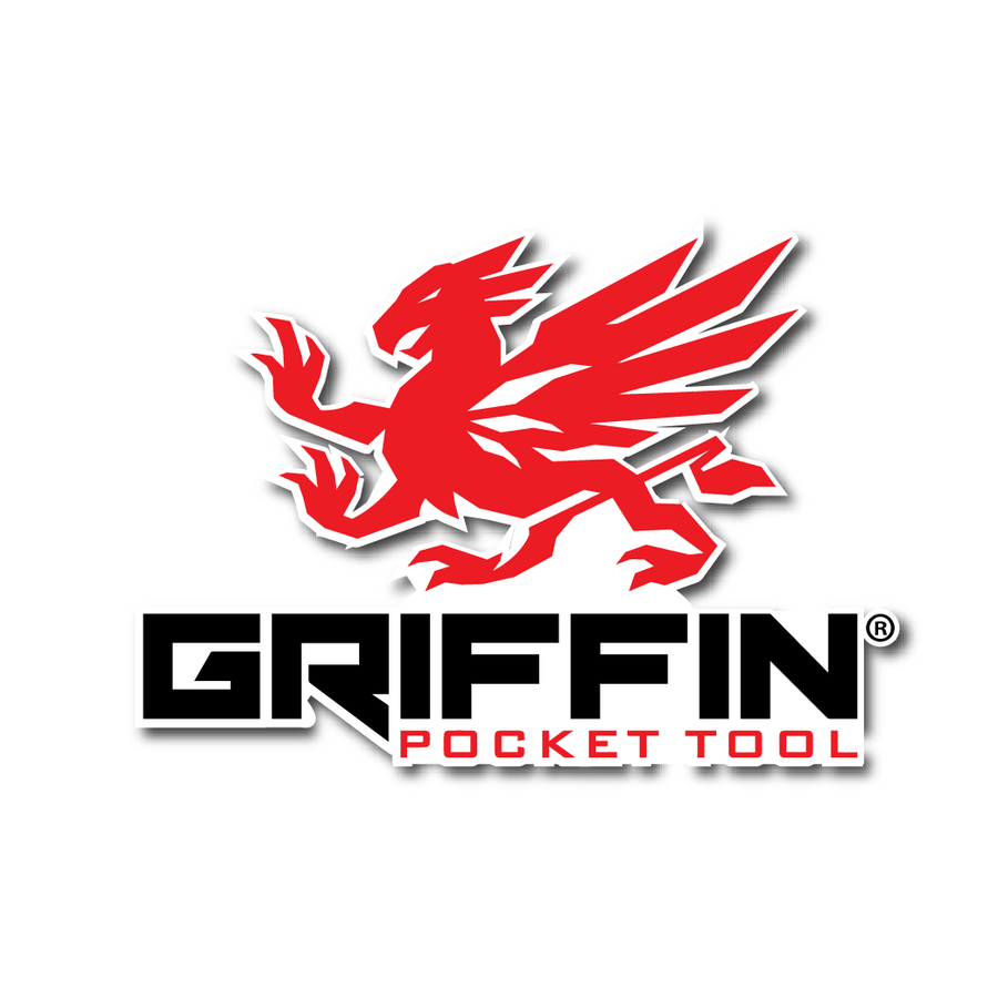 Griffin Pocket Tool - Logo Sticker