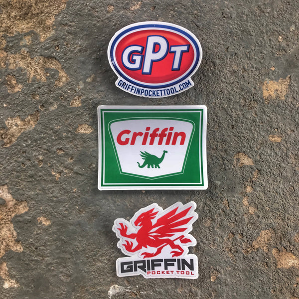 Griffin Pocket Tool - Sticker Swag 3-Pack
