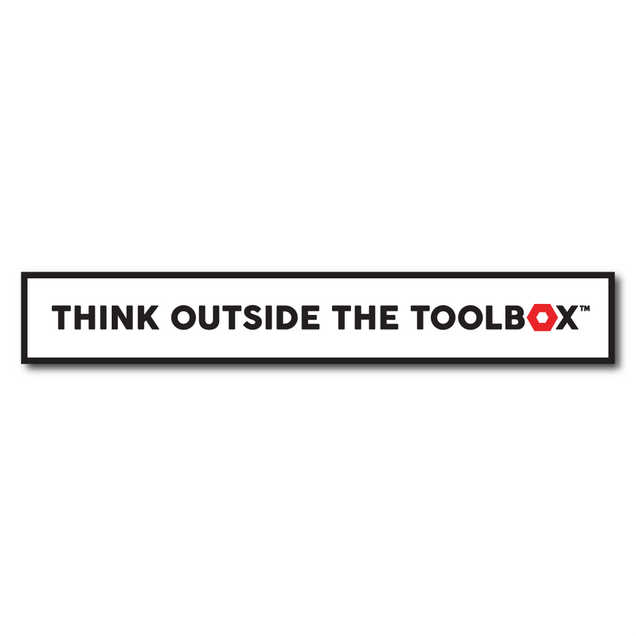 Griffin Pocket Tool - Think Outside The Toolbox™ Sticker