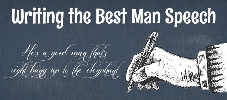 Writing the Best Man Speech