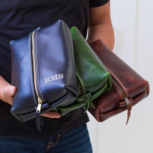 Heirloom Toiletry Travel Bag / Dopp Kit
