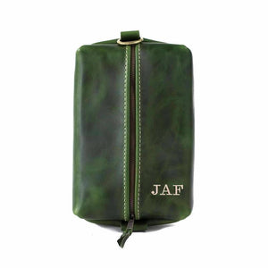 Heirloom Toiletry Travel Bag / Dopp Kit EMERALD GREEN