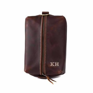 Heirloom Toiletry Travel Bag / Dopp Kit OXFORD BROWN