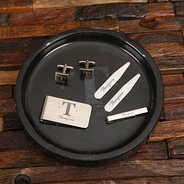 Personalized Groomsmen Accessories Gift Set
