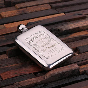 The Gent - Customized Stainless Steel Flask