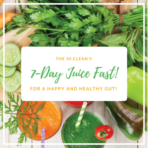 30 Clean Juice Fast Challenge