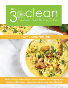 14 Day V Clean Meal Plan (Pre-Sale)