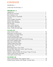 Summer Eats (Table of Contents)