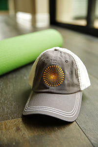 T30C Baseball Cap - Gray on White