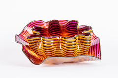 Dale Chihuly Original Amber Plum Seaform Set Handblown Glass Contemporary Art