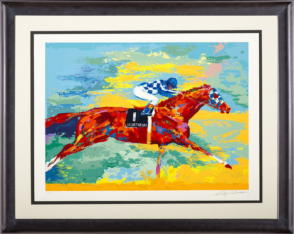 The Great Secretariat Serigraph Signed Limited Edition