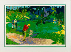 Golf Threesome Limited Edition Serigraph