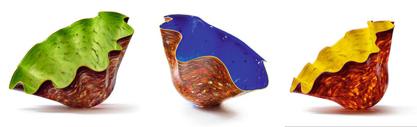 Massive Commissioned Hand Blown Glass Macchia Fine Art 200k plus