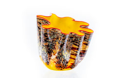 Dale Chihuly Original Yellow Macchia Series Prototype Glass Contemporary Art 8500 appraisal