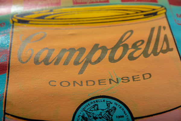 "Steve Kaufman (1960-2010) -- Description : ""Campbell's Soup"""