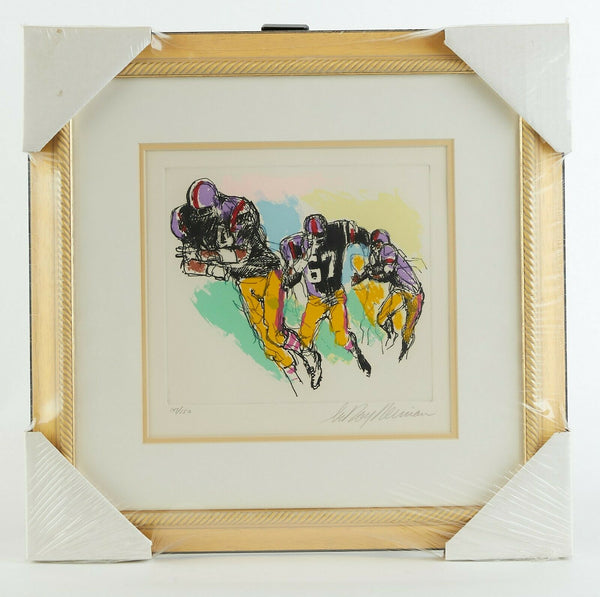 LeRoy Neiman Interference Football Suite Signed Limited Original