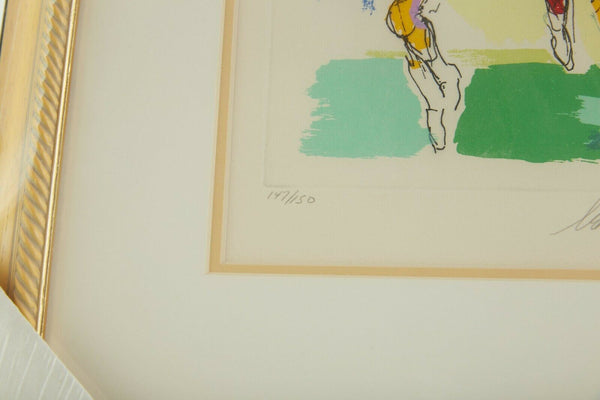 LeRoy Neiman Receiver Football Suite Signed Limited Original