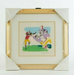 LeRoy Neiman Scampering Back Football Suite Signed Limited Original