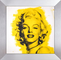 Marilyn Monroe Warhol Famous Assistant Oil Painting Canvas 25 x 29