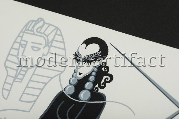 Scorpio from the Zodiac Limited Series Original Art Deco Fine Art