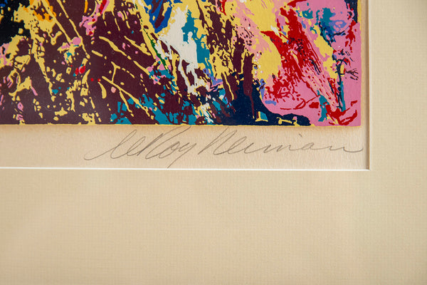 LeRoy Neiman Bar at 21 Limited Signed Painting, Art All Offers Considered