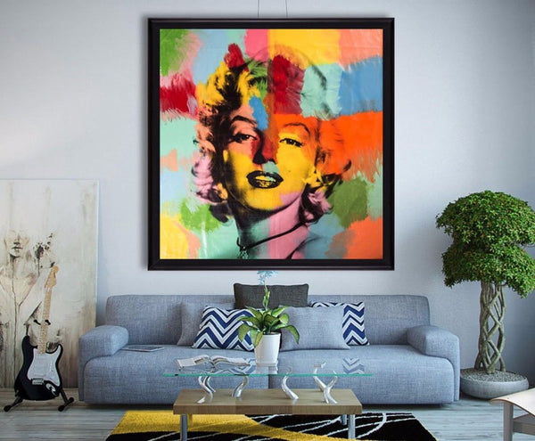 "Largest 75""x71"" Original Painting 1/1 Best Kaufman Piece Online"