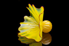 Dale Chihuly Buttercup Persian Sold Out Limited Portland Press Glass Sculpture