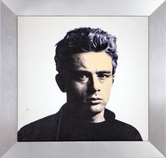 James Dean Rat Pack Warhol Famous Assistant Oil Painting Canvas