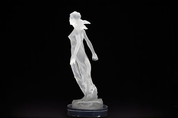 Songs of Grace: Faith Lucite Sculpture Original Contemporary Art
