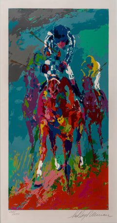 LeRoy Neiman Secretariat II Signed Serigraph Contemporary Art