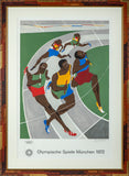 Rare Limited Edition of 200 Signed Olympics 1972 Munich Runners