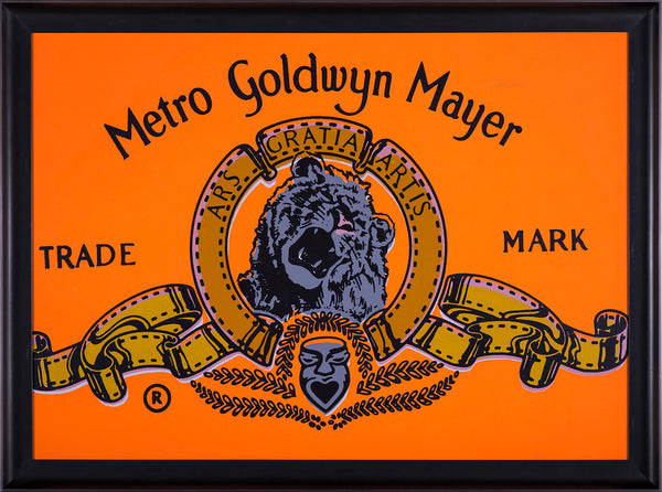 MGM Goldwyn Mayer Warhol Famous Assistant Oil Painting Canvas